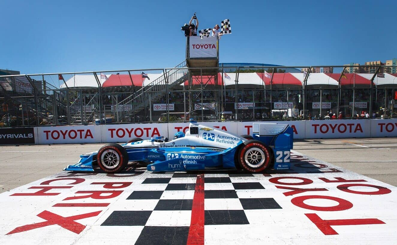 Pagenaud Wins in Closest Finish in Grand Prix History