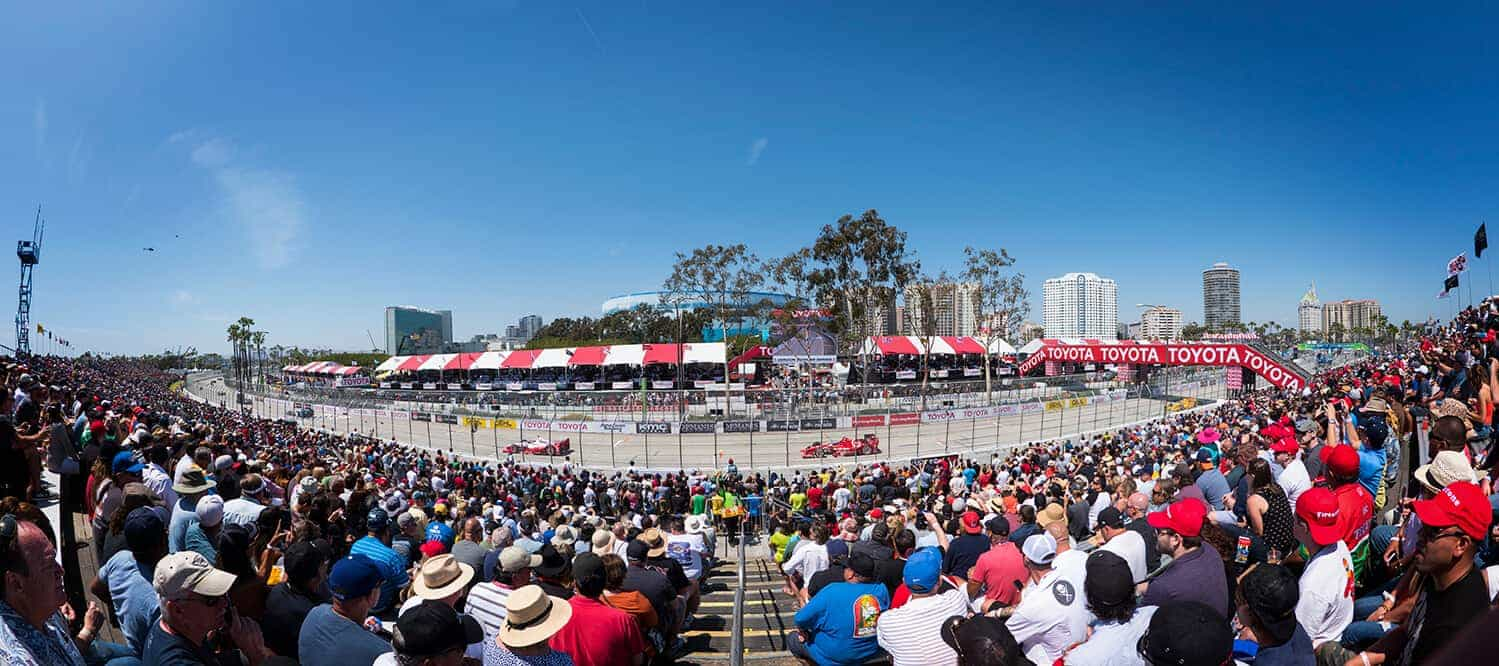 Circuit Map Parking Toyota Grand Prix Of Long Beach