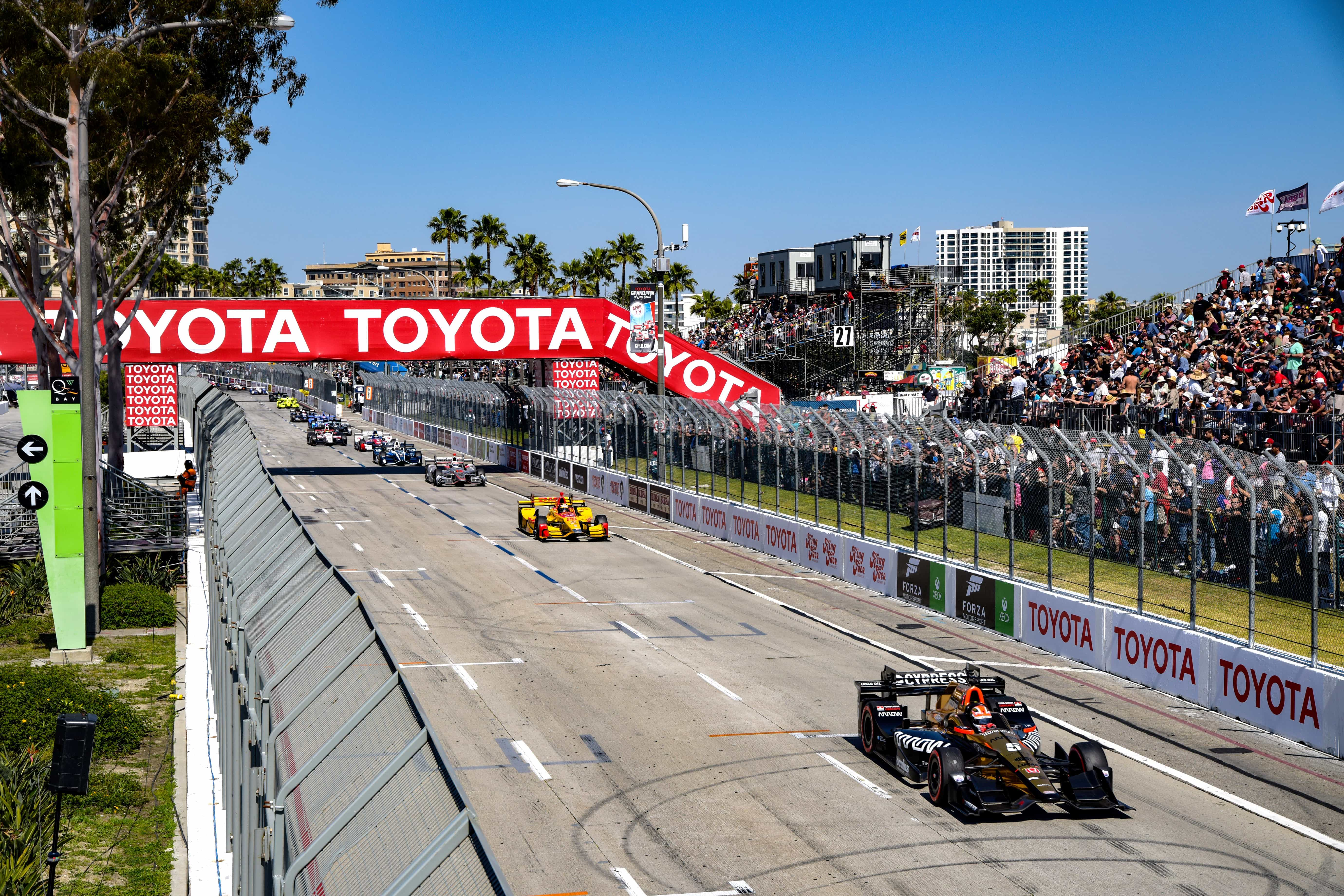 Long Beach Is Third Event On 2018 Verizon Indycar Series Schedule