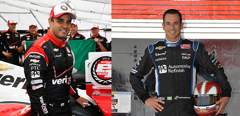 Castroneves and montoya to long beach motorsports walk of for Long beach motor sports