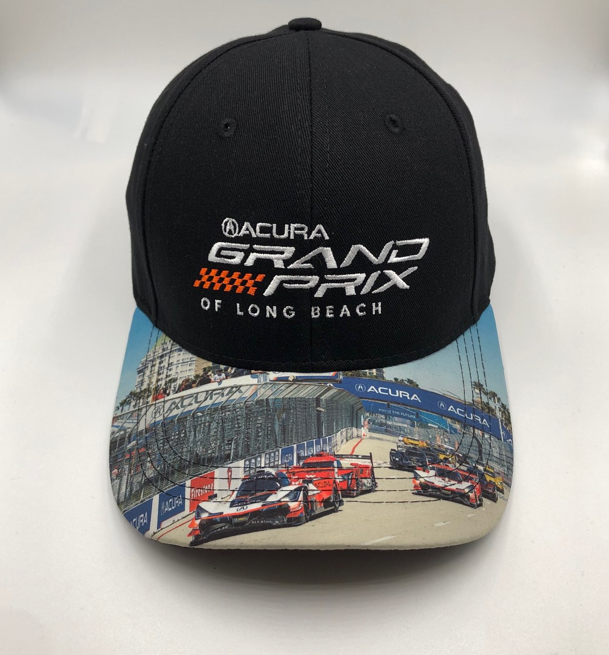GRAND PRIX SPORTS CAR HAT WITH SUBLIMATED VISOR